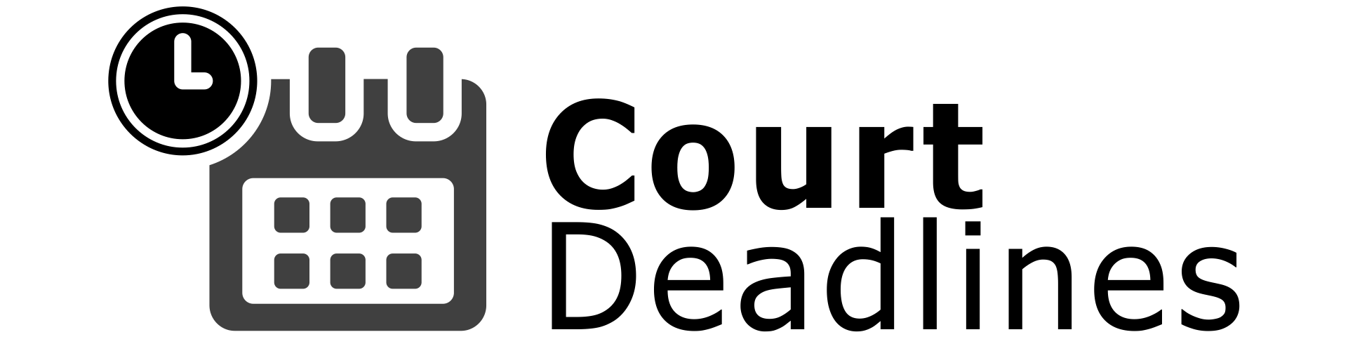 Court Deadlines | Deadline Calculators and Legal Resources