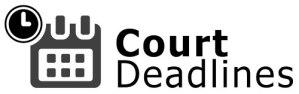 court deadlines logo
