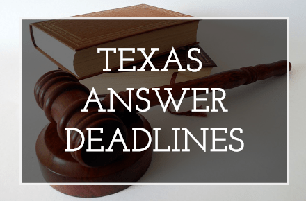 2018 Texas Answer Date Calculator