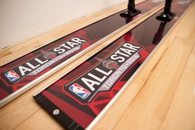 NBA ALL STAR GAME - PROMOP 48 CUSTOMIZED BASKETBALL MOP