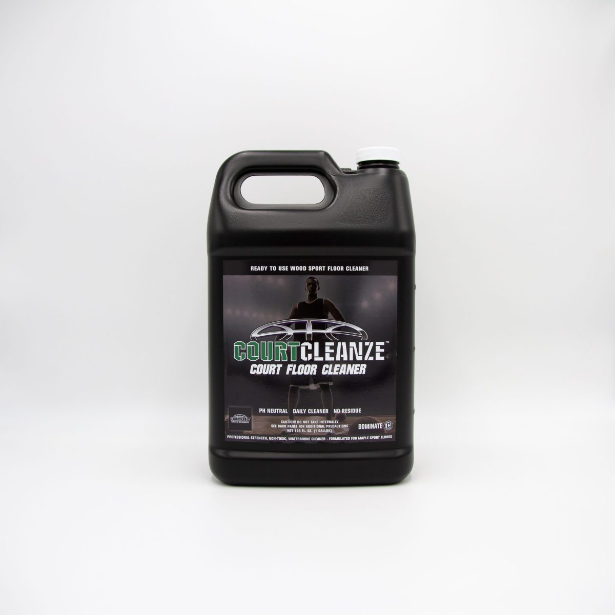 COURTCLEANZE COURT FLOOR CLEANER READY-TO-USE-REFILL FOR CLEANING BASKETBALL GYM FLOORS