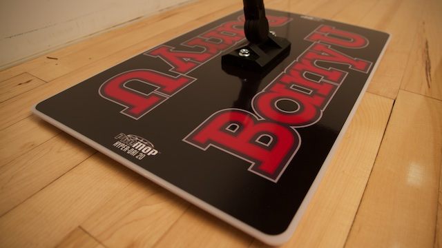 barry university basketball floor mop