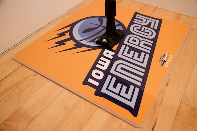 IOWA ENERGY - PROMOP HYPER-DRI 20XL CUSTOMIZED BASKETBALL/VOLLEYBALL MOP - WITH CUSTOM LOGO AND TEAM COLORS