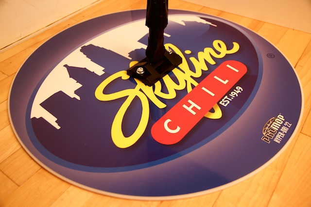 SKYLINE CHILI - HYPER-DRI 22 ROUND BASKETBALL/VOLLEYBALL SWEAT MOP