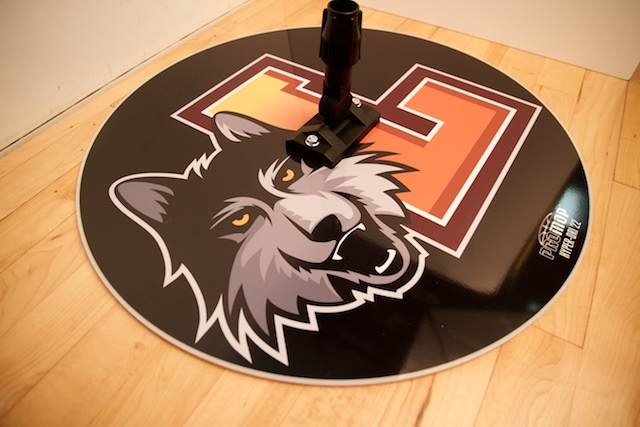 LOYOLA RAMBLERS - HYPER-DRI 22 ROUND BASKETBALL/VOLLEYBALL SWEAT MOP