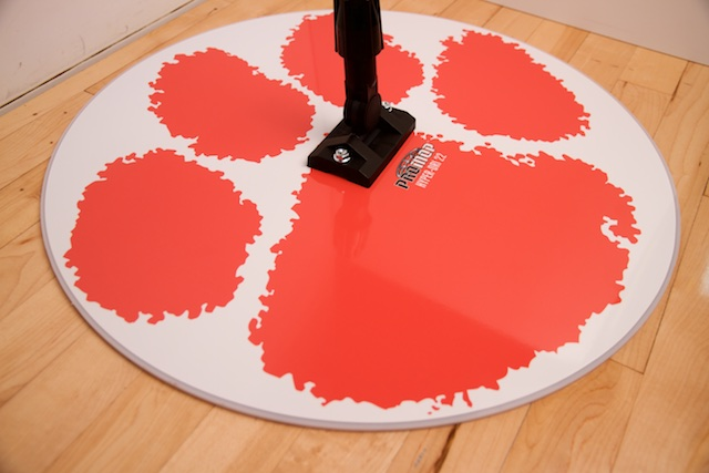 CLEMSON TIGERS - HYPER-DRI 22 ROUND BASKETBALL/VOLLEYBALL SWEAT MOP