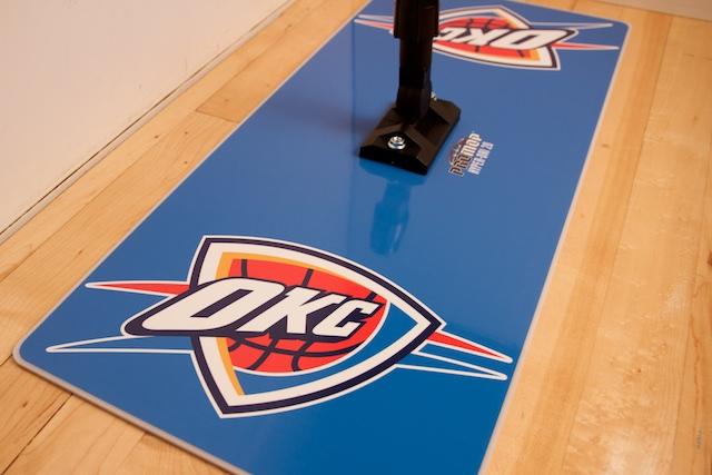 PROMOP HYPER-DRI 28 BASKETBALL / VOLLEYBALL SWEAT MOP - CUSTOMIZED FOR OKC THUNDER
