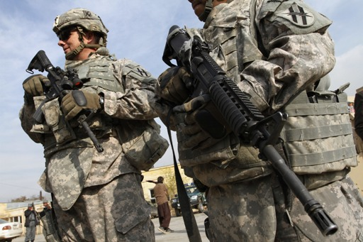 Awww, Half of Post-9/11 Veterans Say War on Terror Traumatized Them, Awww...  AFGHANISTAN-TROOPS