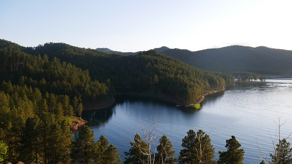 A lake in the Black Hills of South Dakota. (Photo by Chris Marshall/CNS)