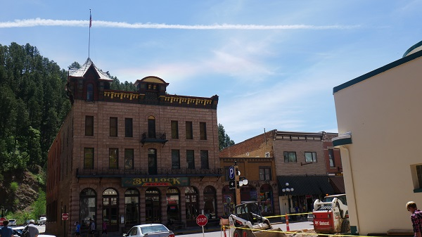The Bullock Hotel in Deadwood, South Dakota. (Photo by Chris Marshall/CNS)