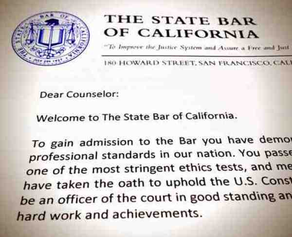 Watchdog Puts Brakes on $430 Hike in California State Bar Dues