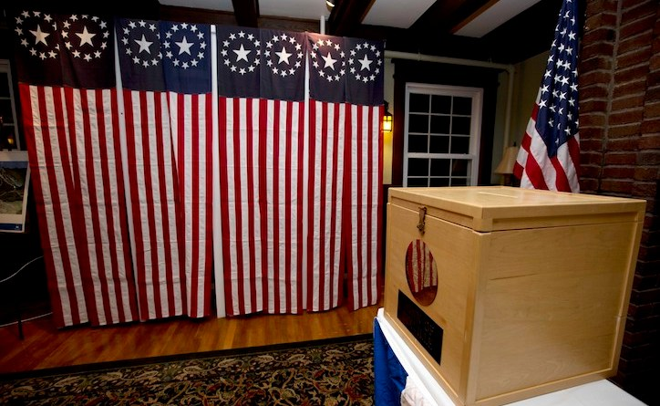 New Hampshire Voting Station