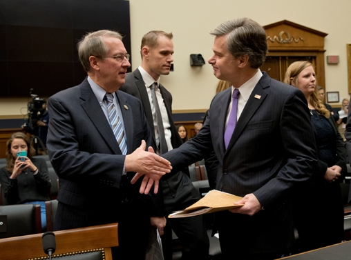 FBI Director Christopher Wray testifies before House amid Trump criticism of bureau