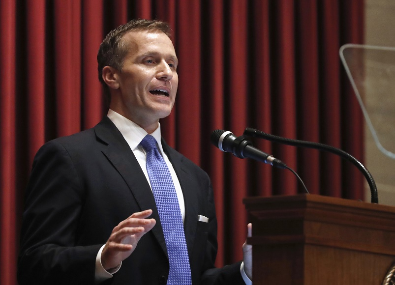 Greitens focused on moving forward after affair