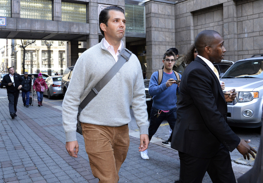 Reporting for Duty, Donald Trump Jr  Passed Over for Jury Trial