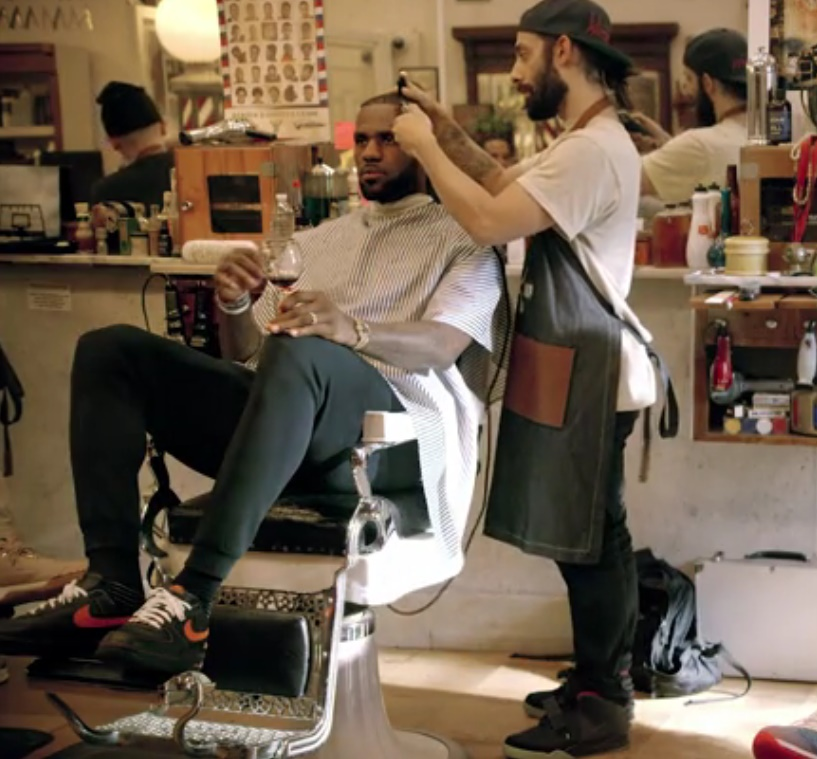 LeBron James' Uninterrupted sued over barbershop-themed show