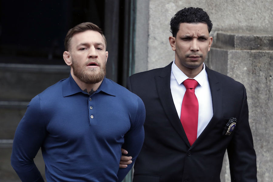 UFC star Conor McGregor bailed on assault charges