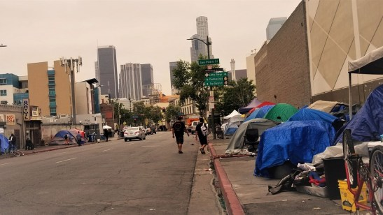 La Barred From Destroying Possessions Of Homeless Residents