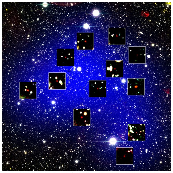 Astronomers Discover Oldest Galaxy Protocluster Yet