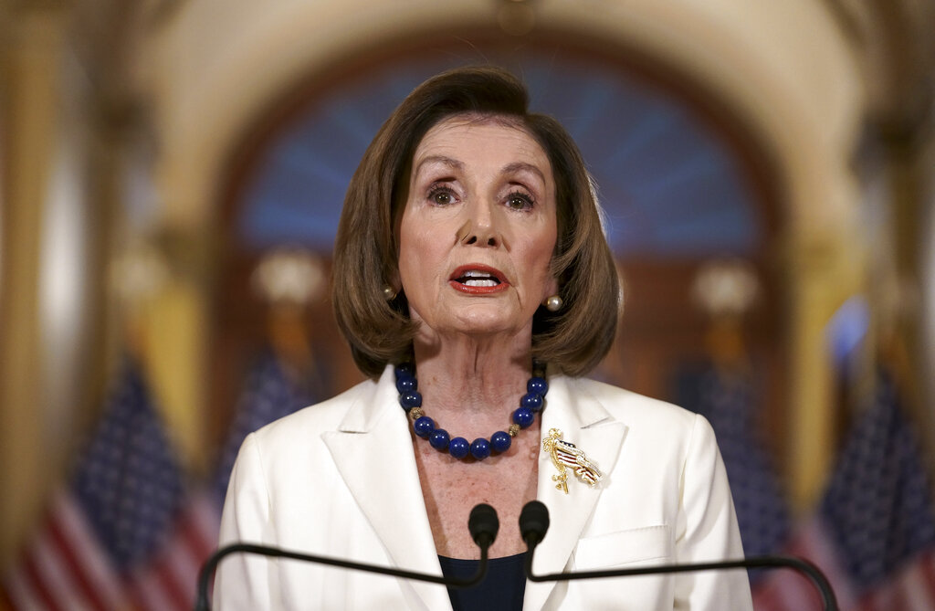 Pelosi Addresses Impeachment Questions In Town Hall Meeting