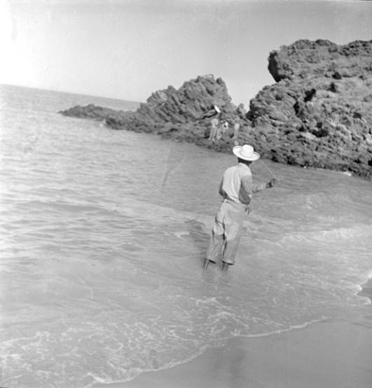 Fisherman on the Baja California coast (Walt Girdner photo)