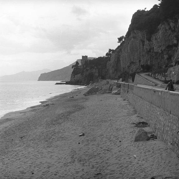 Monte Carlo beach. From Walt Girdner's Europe collection.