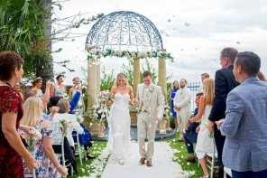 garden water views waterfront bayside ceremonies wedding