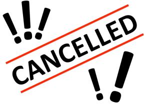 Cancelled Logo