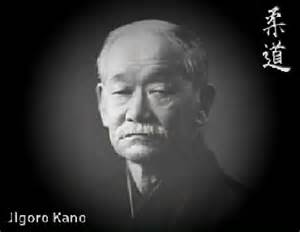 Professor Jigoro Kano, founder of Judo
