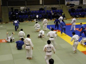 Training session at Matsumae Cup 2005