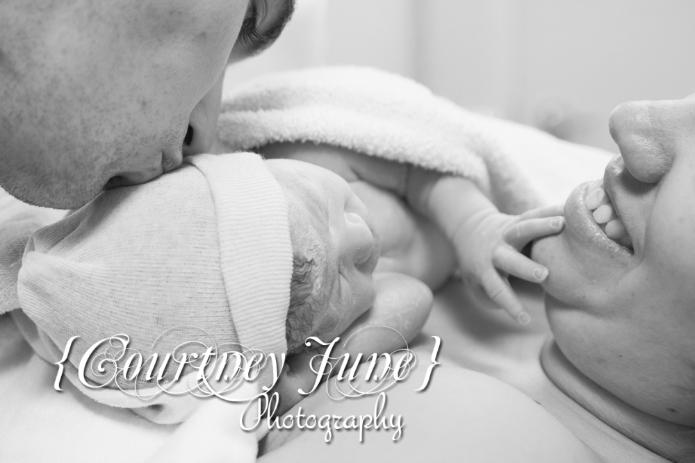 Live birth birth session newborn san diego children portrait photography