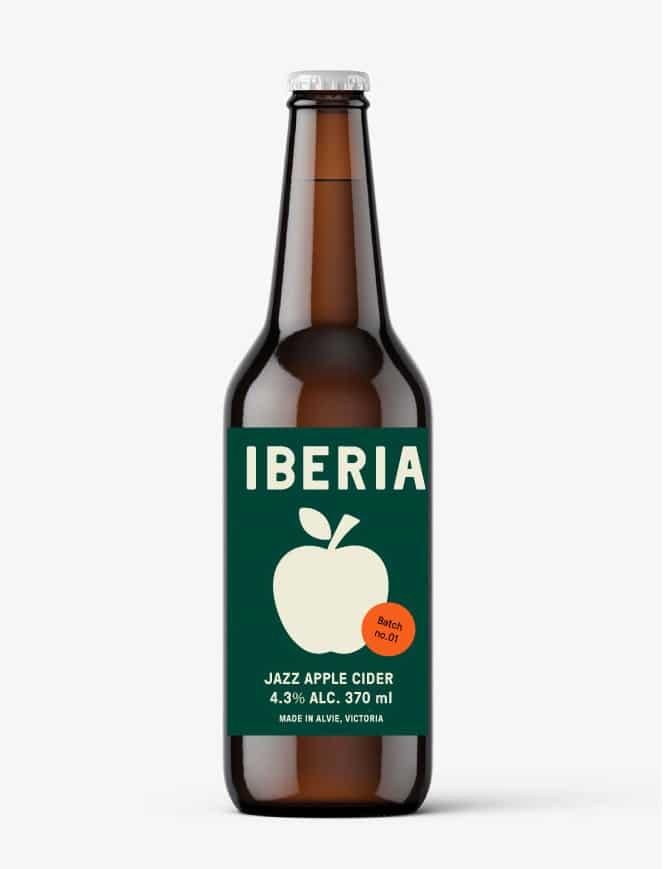 Iberia BRAND cider 1