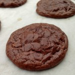 Flourless Double Chocolate Cookies