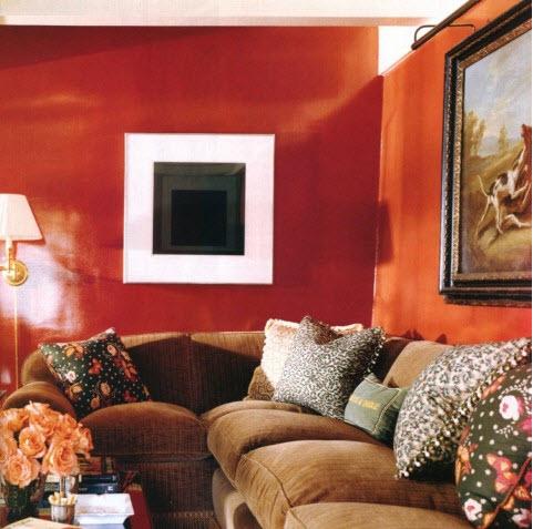 High Gloss walls Todd Alexander Romano