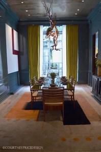 High gloss Dining Room