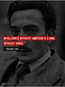 Intelligence without ambition