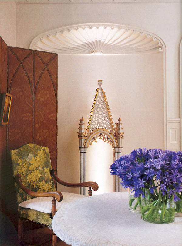 gothic accents in decor