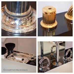 fine silver inspires bath design