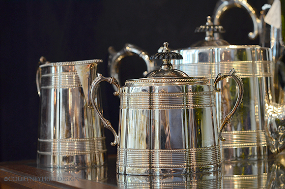 Silver serving pieces, silver gifts, wedding registry silver