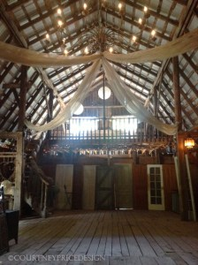 converted barn, meeting place for Blogger retreat, Canada