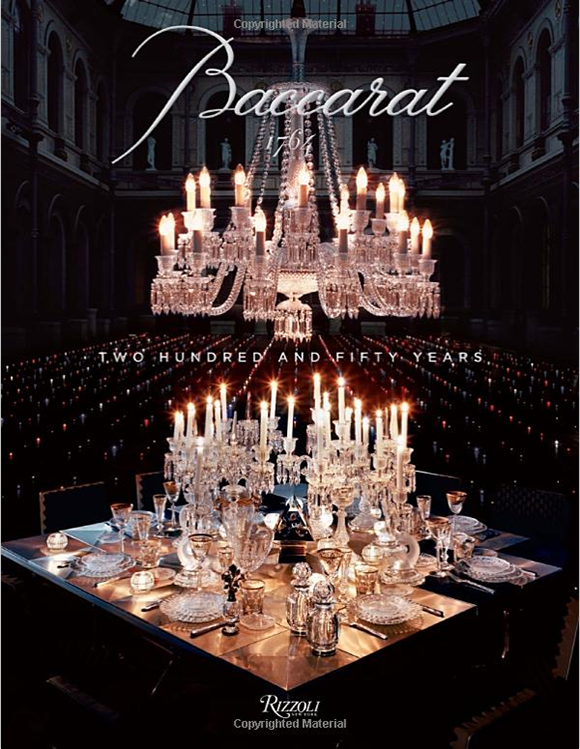 Baccarat Book, gift books, coffee table books, cocktail table books, gifts, holiday gifts