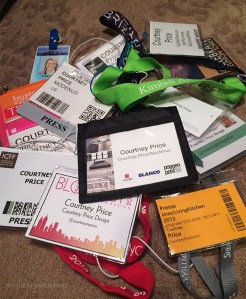 Press Passes- Courtney Price