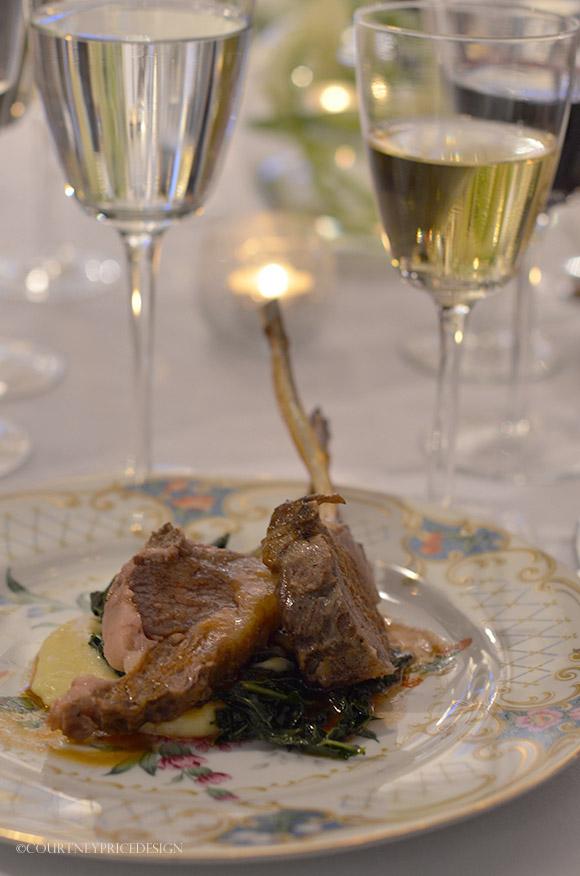 Lamb Chops, Food Presentation Pointers on www.CourtneyPrice.com