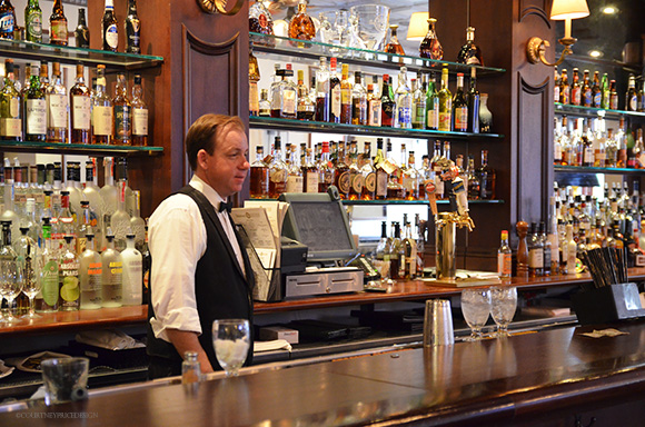 Galatoires 33 Bar, French Quarter Bar, New Orleans, Bourbon Street, on www.CourtneyPrice.com