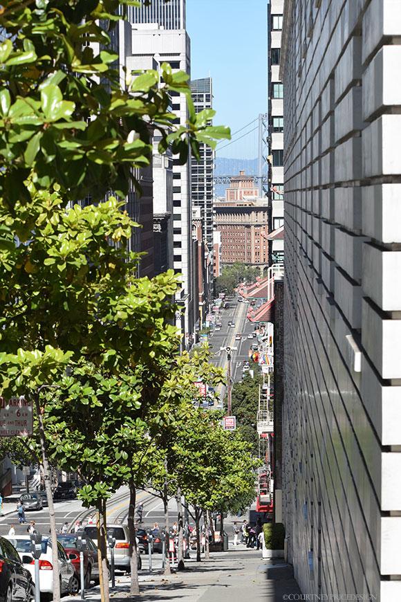California Street, San Francisco, on www.CourtneyPrice.com