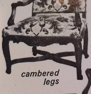 Cambered Legs, decorative arts glossary,French Furniture, www.CourtneyPrice.com