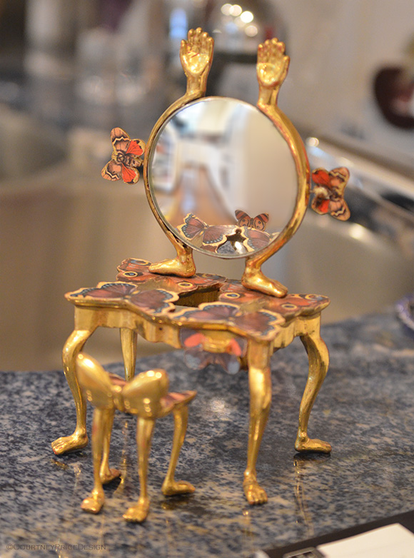 PedroFriedeberg Dressing Table,Pedro Friedeberg collection on www.CourtneyPrice.com