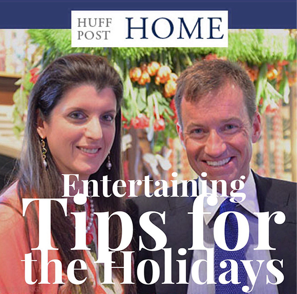 Holiday Entertaining Tips on Huff Post Home www.CourtneyPrice.com