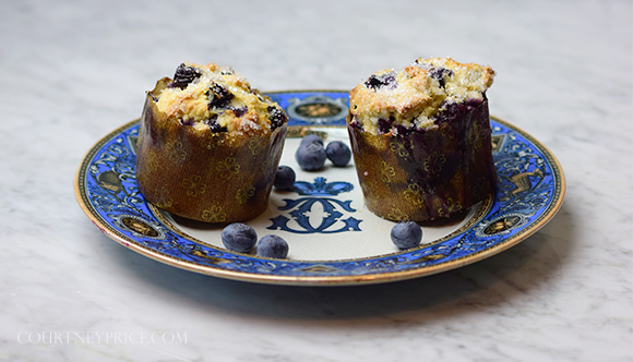 What secret ingredient will turn good Blueberry Muffins into luxury blueberry muffins? Find out - on www.CourtneyPrice.com