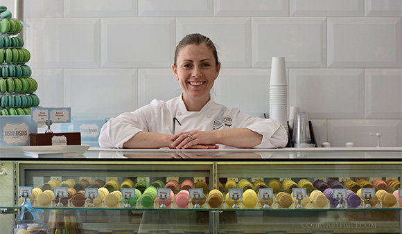 Andrea Meyer, Best Macarons Ever-Shop Dallas: Bisous Bisous www.CourtneyPrice.com